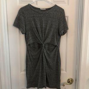 cut out t shirt dress